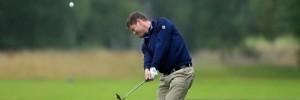 Arscott's golf pro - Glyn Sadd