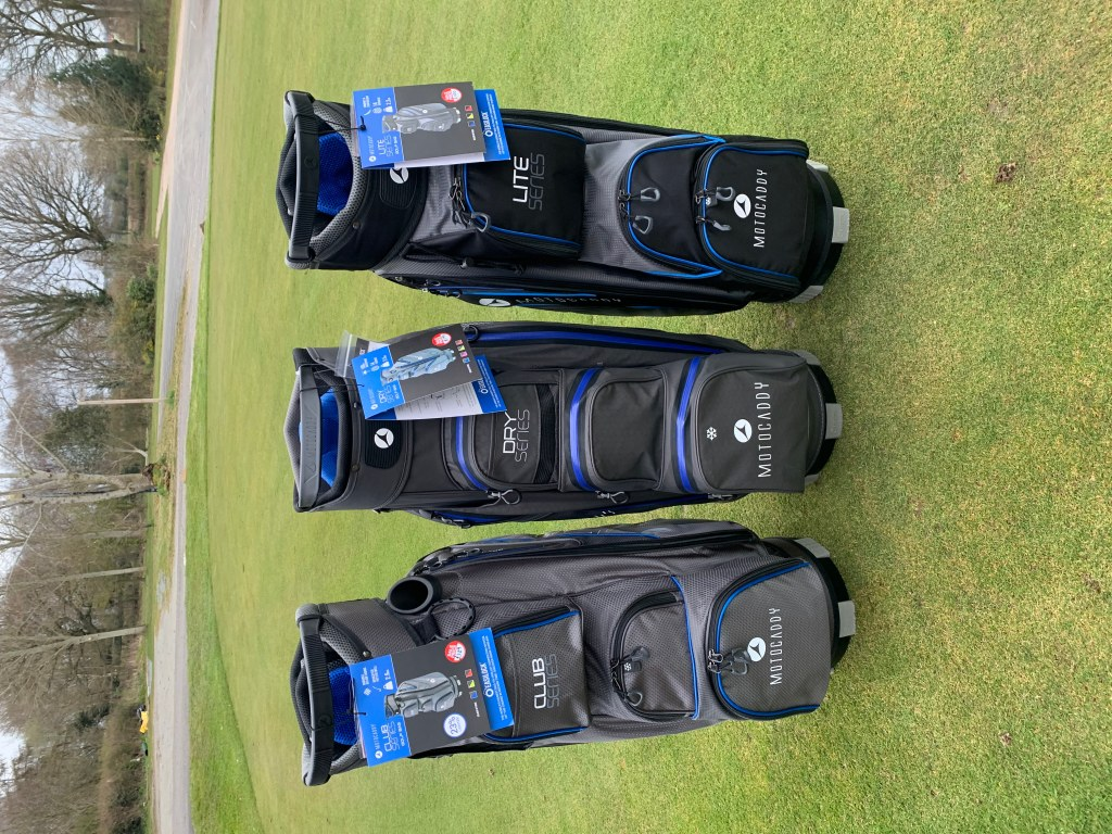 Motocaddy bags